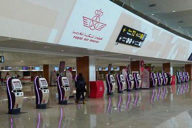 Qu'est ce qui caractérise L'aéroport Mohammed V de Casablanca ?